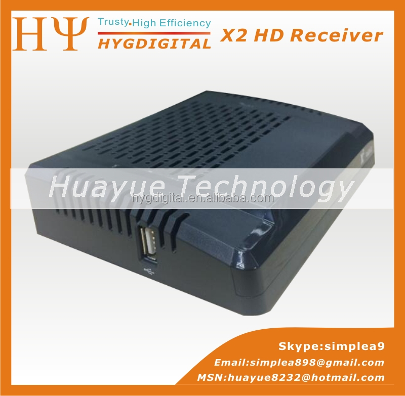 Original X2 HD V7 HD DVB-S2 mini satellite tv receiver X2 V7 support BISS Key Patch CCCAM Powervu Youtube Usb wifi