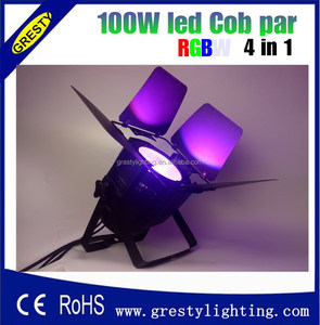 Led Uplight 100W Cob RGBWAUV Multi Color Led Par Can Light /Led Washer Lights Party Disco
