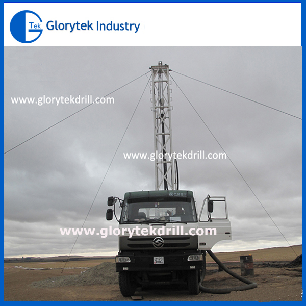 Truck Mounted Model Gl-II Water Well Drilling Rig Used to Drill up 200m Depth