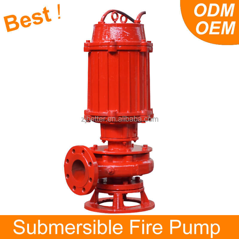 Light and Easy Operate Submersible Fire Pump