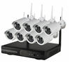 1080P wireless 8ch ip camera NVR kits outdoor home security wifi cctv system