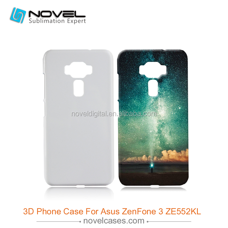 Latest New 3D sublimation cell phone case for Asus Zenfone 3 ZE552KL,diy phone case