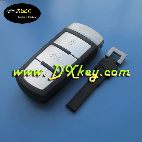 Hot selling 3 button MAGOTAN remote key shell with emergency key smart key emergency start