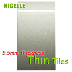 OEM big size 600X1200mm slim tiles 5.5mm Thin Porcelain Kitchen and bathroom wall and floor Tile