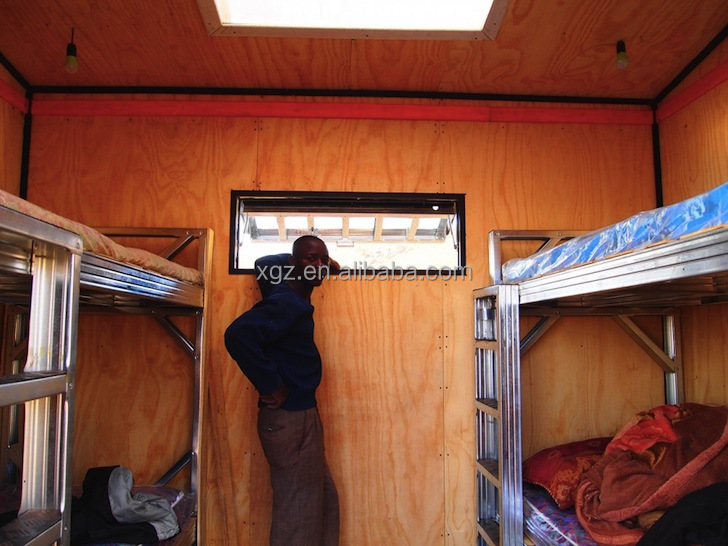 XGZ cheap sandwich panel prefabricate container mobile home