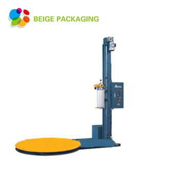 Factory selling turntable stretch pallet wrapping machine