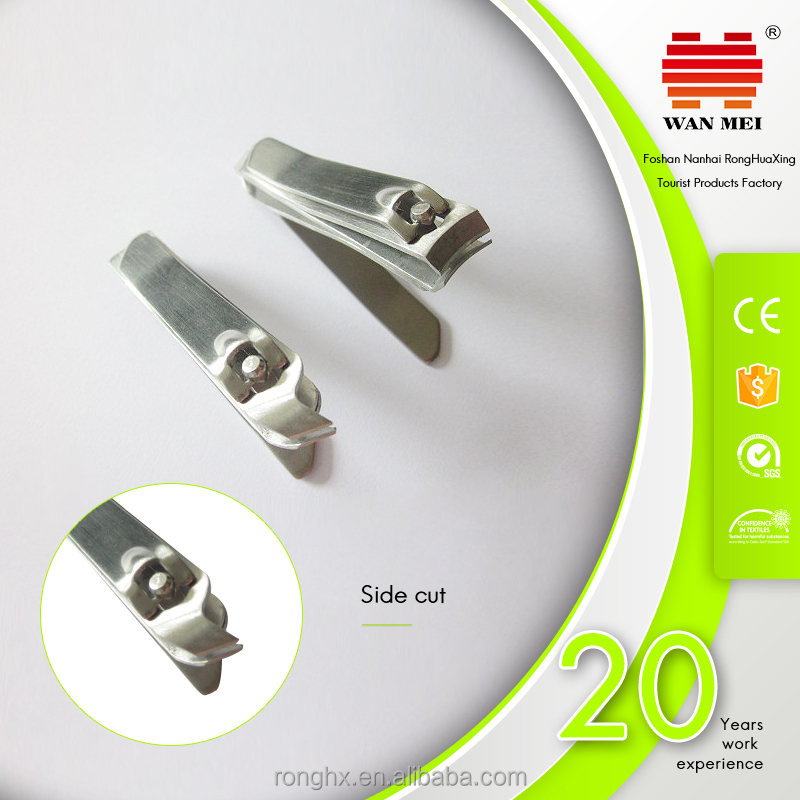 bsci factory double side high quality nail cutter with cuticle remover