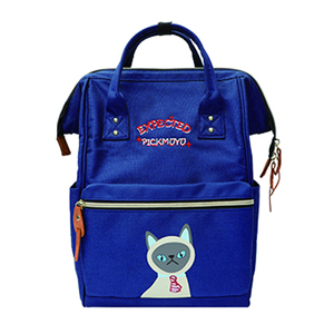 Cheapest classic japan dark blue polyester fashion backpack