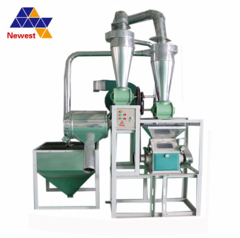 new 5 ton per day maize/wheat flour mill corn/maize flour milling machine price