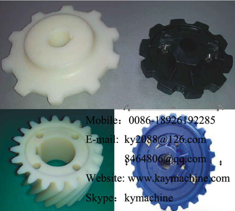 Nylatron Sprocket hub