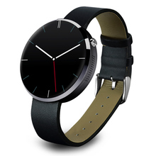 Mode wireless montre Smart watch ronde DM360 montre Smart watch pour IOS et Andriod Mobile Téléphone