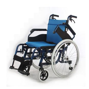hand brake folding manual wheel chair with quick release wheels