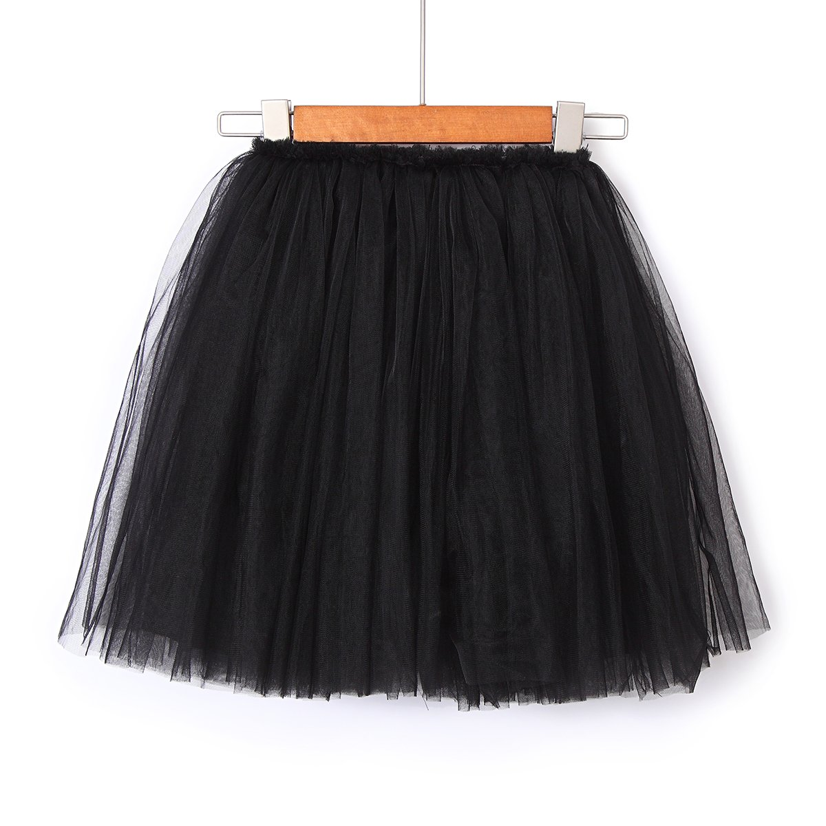 Flofallzique 6 Colors Ankle Length 1-10 Year Old Girls Skirt Dancing Party Skirt Long Tulle Puffy Skirt for Kids