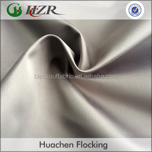 3 Pass Sun Block Curtain Fabric for Hotel and Home