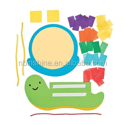 CU 2303 colorful animal shape making paper diy craft kit