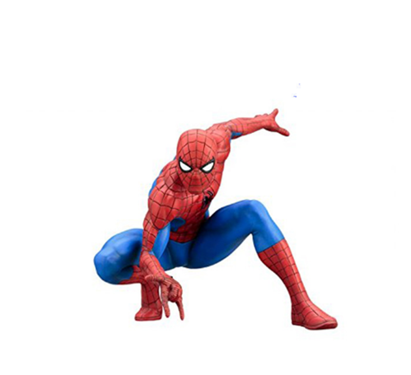 Harz spider man anime figur