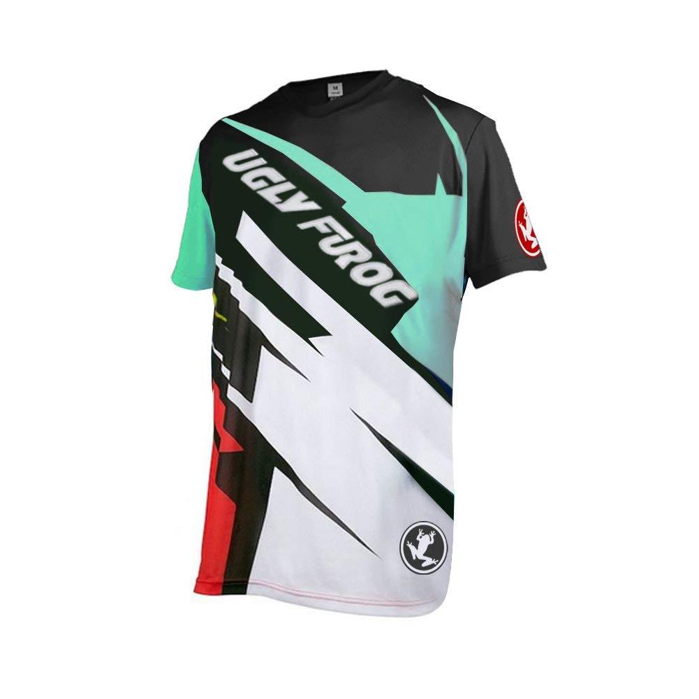 Get Quotations · Uglyfrog MT14 Designs Bike Wear Men s Downhill Jersey Rage MTB  Cycling Top Cycle Motocross Mountain Bike 0b4e26680