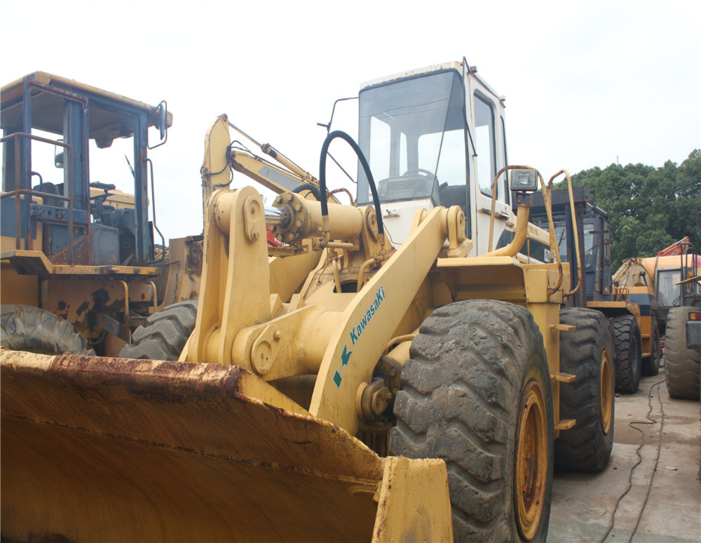 kawasaki used japan 85Z wheel loader