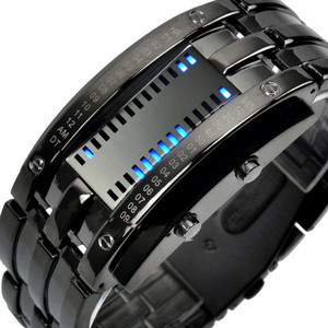 Top brand energy-saving wristwatch hot sales LED display digital students watch popular item for young people