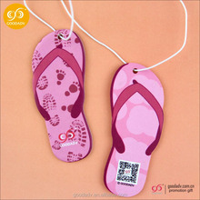 Cute for advertising gifts Fruit shape paper car air freshener