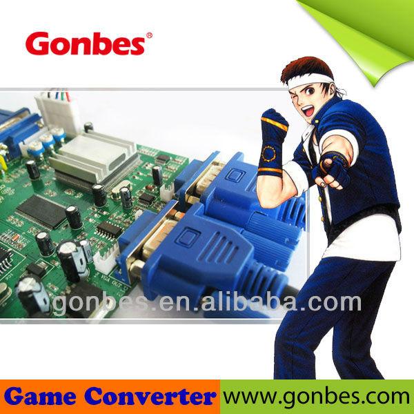 Gbs-8220 Cga Ega Rgb To Vga Video Game Converter
