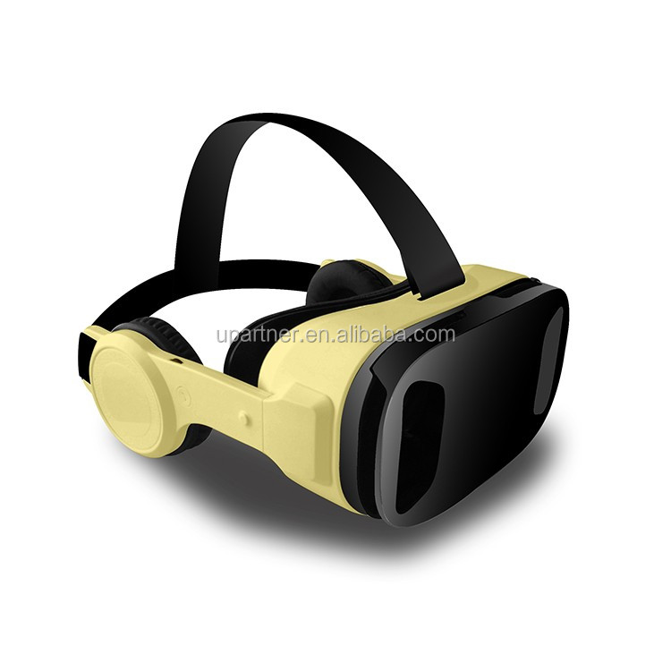 2017 360 degree vr box <strong>Fashional</strong> style for 3d Movies Download Has Built-in Earphones