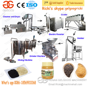 Gold Supplier Sesame Paste Making Machine Seeds Process Machinery