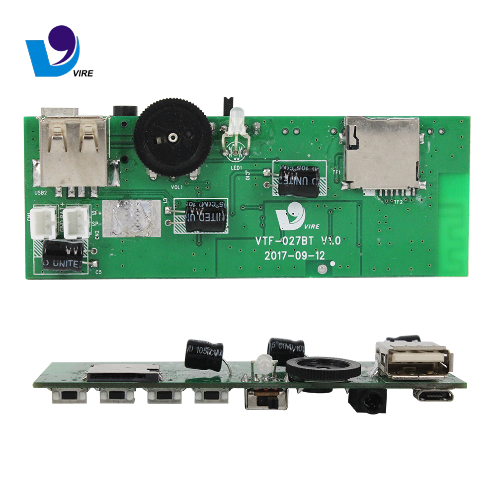 Mp3 Decoder Board With Amplifier Vtf108 Circuit Usb Sound Voice Recording Module Suppliers And Manufacturers At