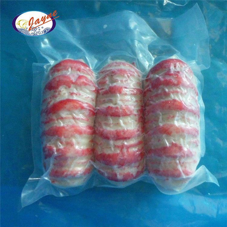 Good price bag packing surimi lobster tails with 3 pieces vacuum package