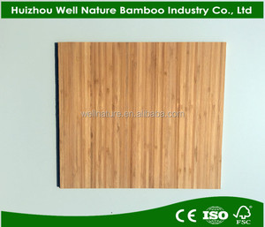 Good quality bamboo plywood 12mm 1-ply Board