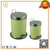 eco friendly soft close foot pedal metal skip bins