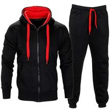 <span class=keywords><strong>Mens</strong></span> Caldo Pile Sport Jogging pantaloni di <span class=keywords><strong>Tuta</strong></span> Top & Bottoms Set
