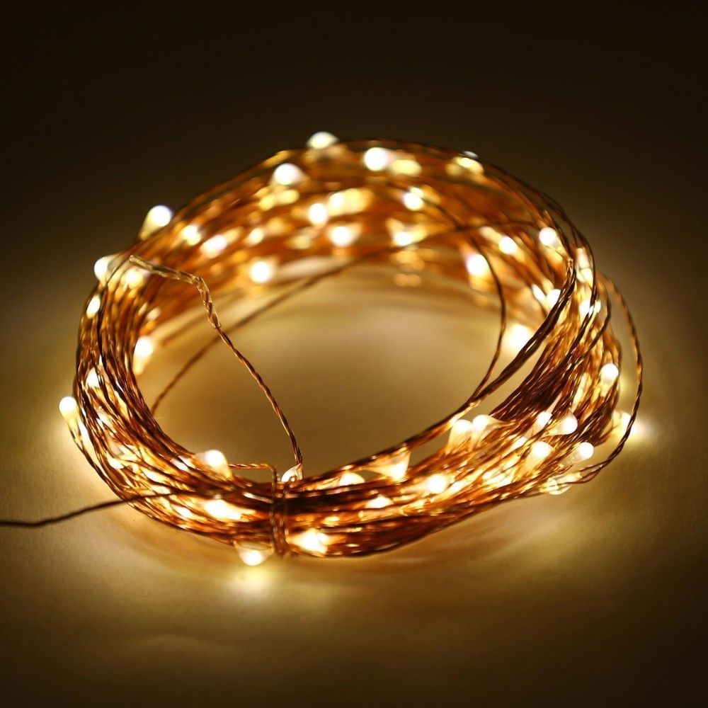 Copper Wire Led Ball String Light For Christmas Decoration - Buy ...