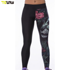 fashion plus size custom printed leggings