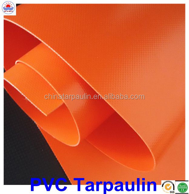 PVC tarpaulin roll for truck tent boat material 450-1500g (13-44oz)