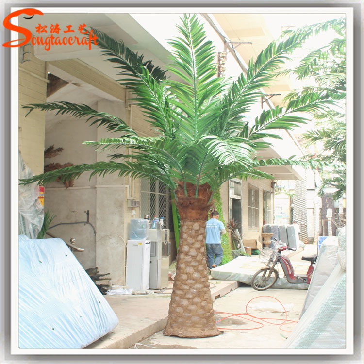 New Products Ornamental Canada Outdoor Artificial Palm Tree