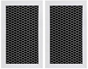 GE JX81C, WB02X10776, Microwave Recirculating Charcoal Filter (2-Pack)