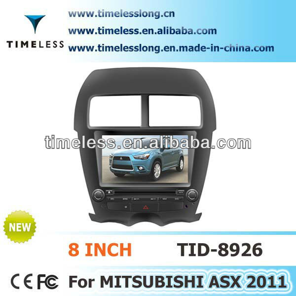 Special car dvd player with BT phone book for MITSUBISHI ASX