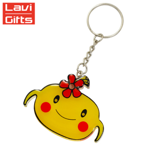 Promotion Gifts Custom Metal Acrylic Cute Keyring