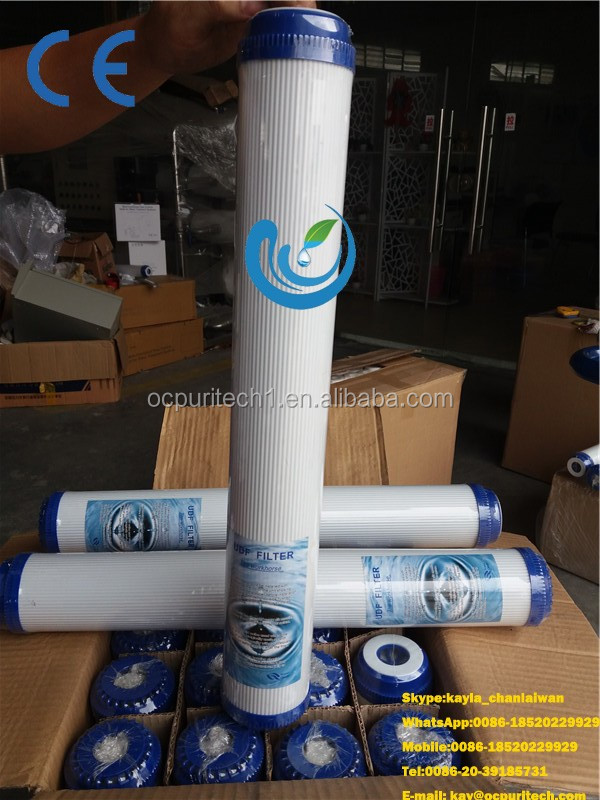 10'' and 20'' PP/ UDF / Pleated and String Wound Cartridge for Water Filter Using