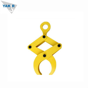 Yakir scissor lifting clamp / lifting grab for pipes / round stock