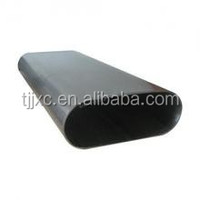 cold drawn oval shaped steel pipe/tubes 08