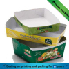 cardboard paper tray for food