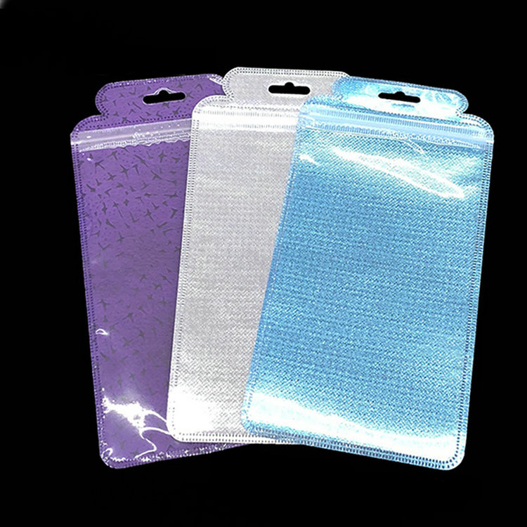 Cell Phone Case Zip Lock <strong>Plastic</strong> Hang Hole Party Package Bags For Samsung Galaxy S6 S7