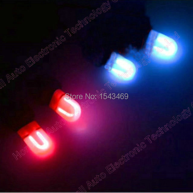 Белый красный синий цвета тележки автомобиля спираль трубка у трубки из светодиодов мигающий лампы противотуманные фары вспышки предупреждение вспышка света