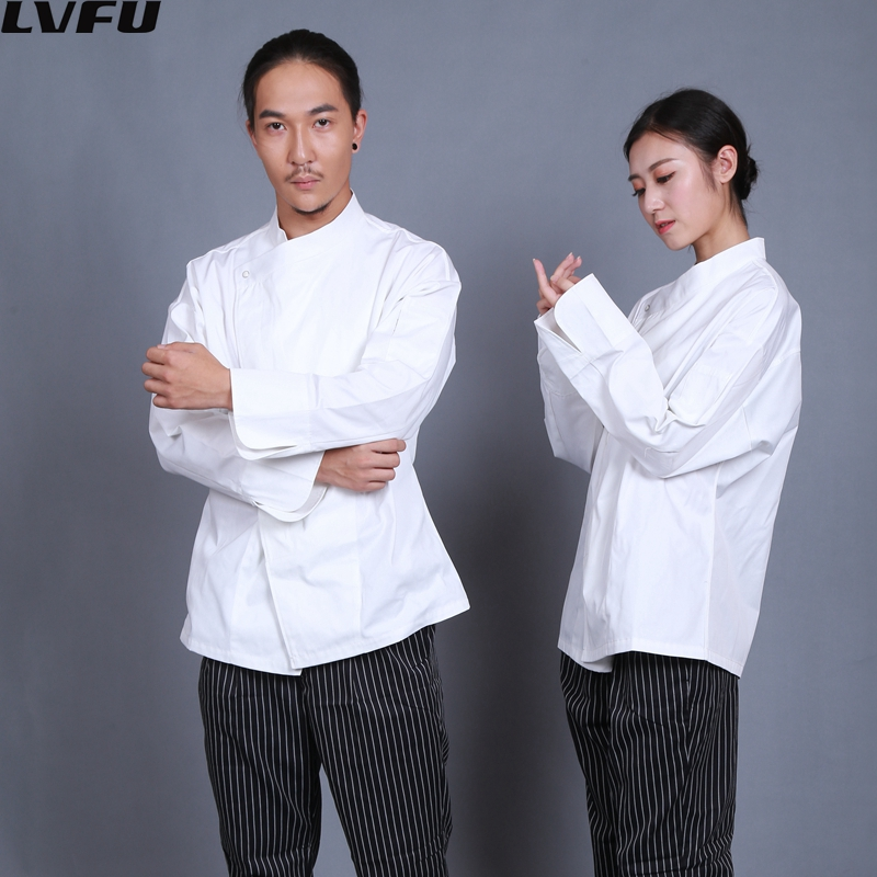 Franse chef uniform jas