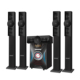 High bass 5.1 CH tower speakers home theater surround sound system with amplifier RM-9142-5H