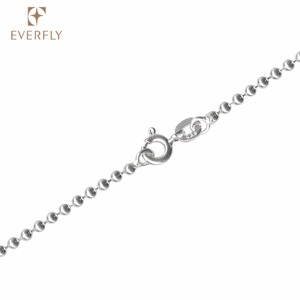 Free sample high quality nickle metal necklace chain with connector