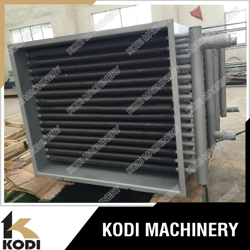 KODI Finned Tube Recuperator Heat Exchanger Water To Air Heat Exchanger