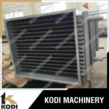 Kodi Finned Tube Recuperator Heat Exchanger Water To Air Heat ...